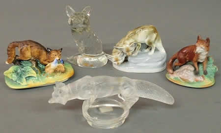 Rene Lalique Fox Car Mascot - Renard