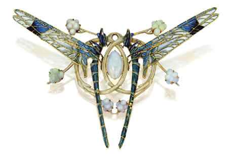 Rene Lalique Dragonfly Pendant