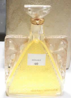 Rene Lalique Perfume Bottle Grace For D'Orsay