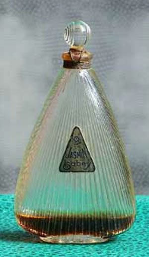 Rene Lalique Perfume Bottle Jasmin For Isabey