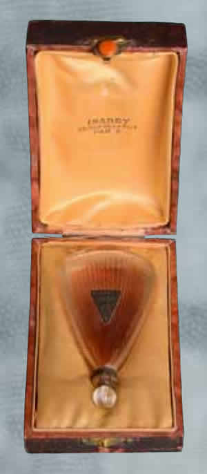 Rene Lalique Perfume Bottle Jasmin For Isabey In Original Box