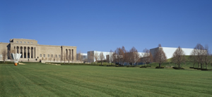 Nelson-Atkins Museum Lawn And Main Building- Kansas City Missouri