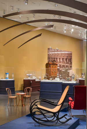 Nelson-Atkins Museum World's Fair Exposition - Inside View Of Exhibits - Kansas City Missouri