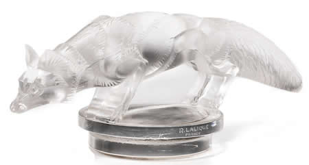 Rene Lalique Renard Fox Car Mascot