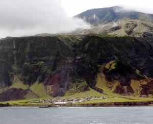 Edinburgh On The Seven Seas Settlement On Tristan Island