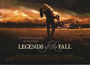 Legends Of The Fall Partial Movie Poster
