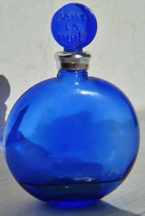 Dans La Nuit Perfume Bottle For Worth With R.Lalique CREATION Signature That Is Modern Post-War