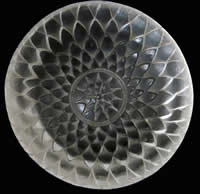 R. Lalique Dahlia Ashtray