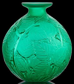 R. Lalique Milan Vase