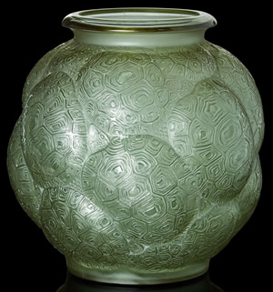 Tortues Vase In Alexandrite Glass Color 2 of 2